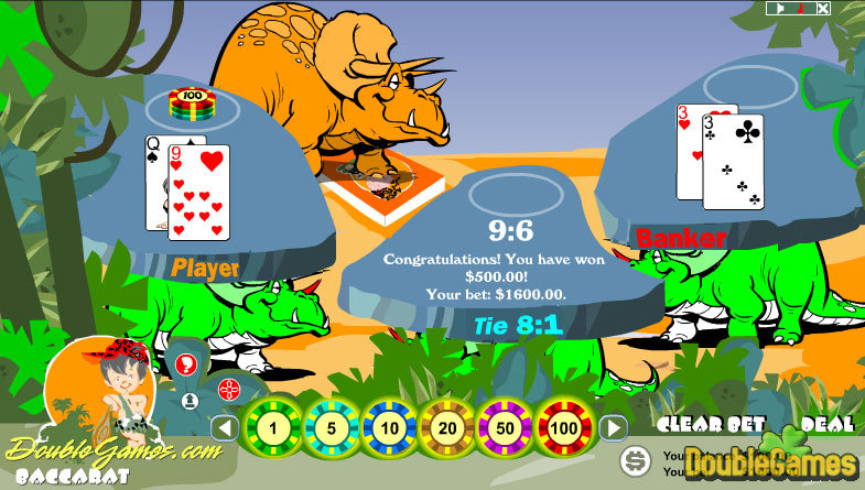 Free Download Prehistoric Baccarat Screenshot 2