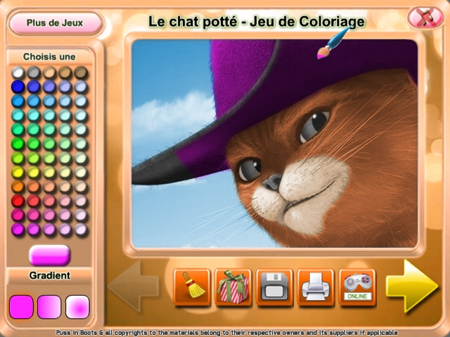 Le Chat Potte Jeu De Coloriage Game Download For Pc