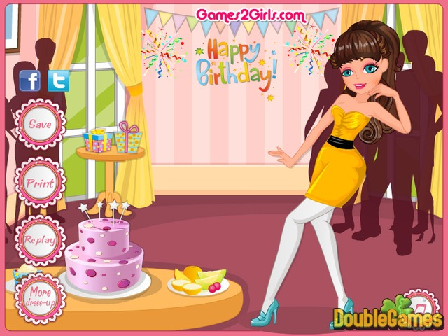 Free Download Retro Birthday Party Screenshot 3