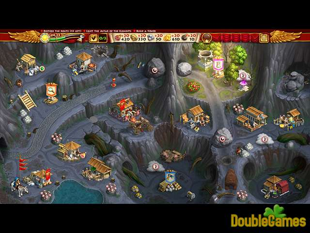 Free Download Roads of Rome: New Generation 3 Édition Collector Screenshot 3