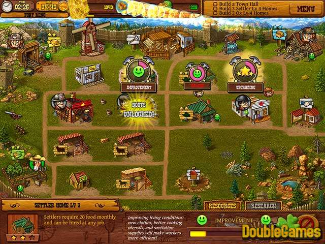 Free Download Settlers of the West Screenshot 1