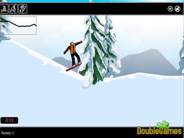 Free Download Snow Surfing Screenshot 3