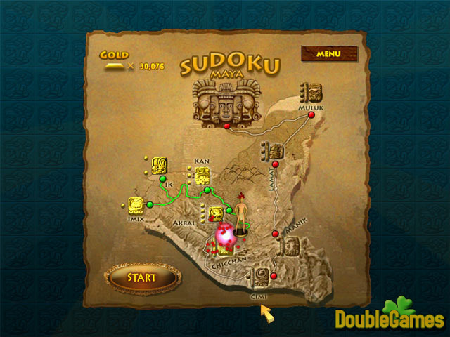 Free Download Sudoku Maya Gold Screenshot 2