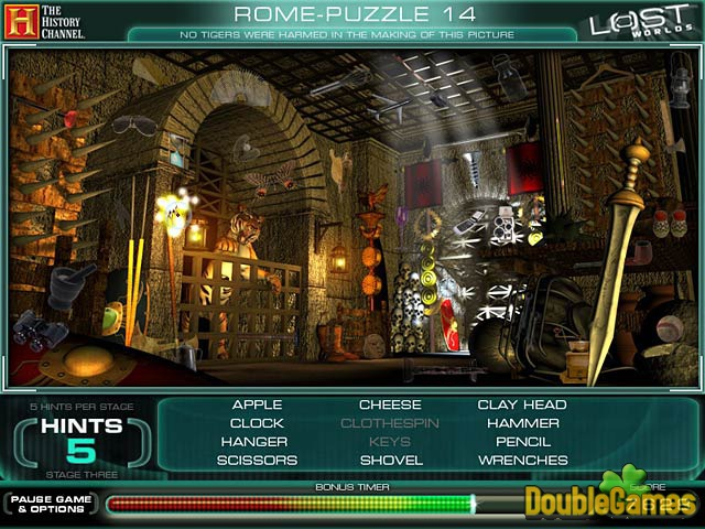 Free Download The History Channel Lost Worlds Screenshot 2