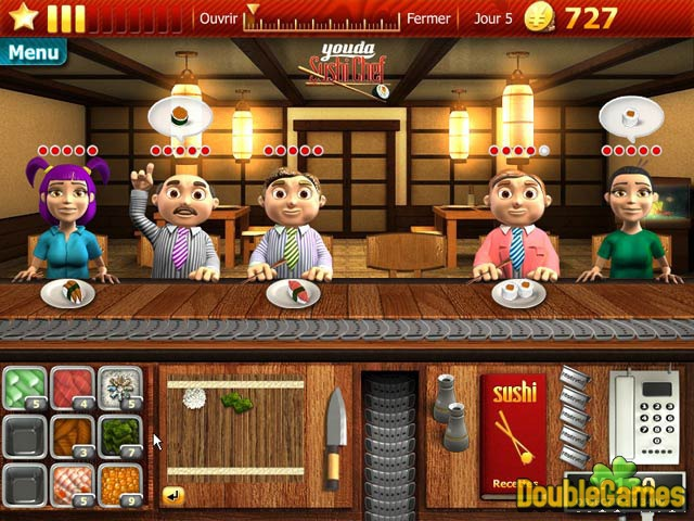 Free Download Youda Sushi Chef Screenshot 1