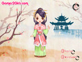 Capture d'écran de Chinese Doll Dress Up à téléchargement gratuit 3