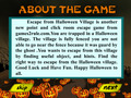 Capture d'écran de Escape From Halloween Village à téléchargement gratuit 1